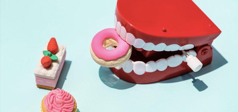 dentista encias negras