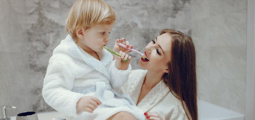 higiene bucal en bebes